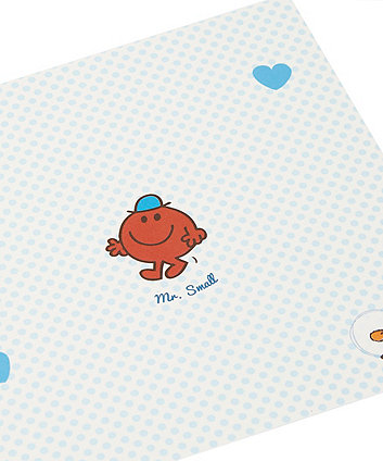 Mr Men New Baby Card