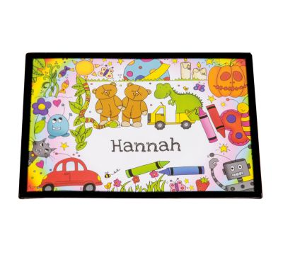 Personalised Placemat- Cartoon Characters