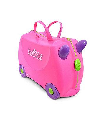 9f11dc7105 Trunki Trixie βαλίτσα ταξιδίου - ροζ