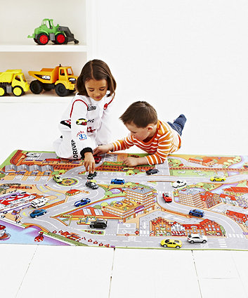 Early Learning Centre Big City Carpet Playmat