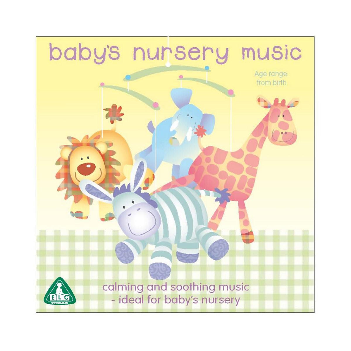 Baby's Nursery Music CD - Nursery Gifts