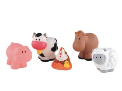 Early Learning Centre Happyland Happy Farm Animals Figures