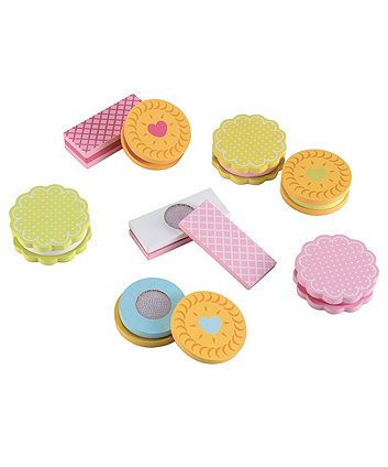 Early Learning Centre Wooden Biscuit Set