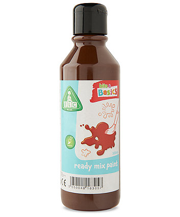Early Learning Centre Brown Ready Mix 300ml Paint