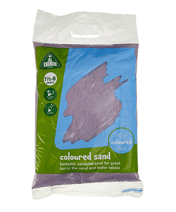 Early Learning Centre Purple Coloured Play Sand - 5kg Bag