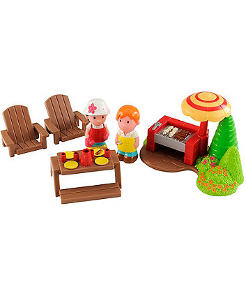 Early Learning Centre Happyland Rose Cottage Garden Set