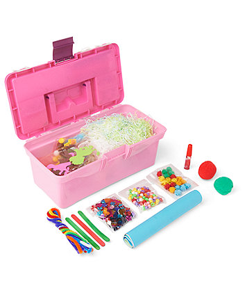 Early Learning Centre Pink Collage Toolbox