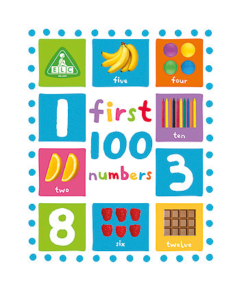 Early Learning Centre First 100 Numbers Board Book