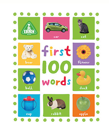 Early Learning Centre First 100 Words Board Book