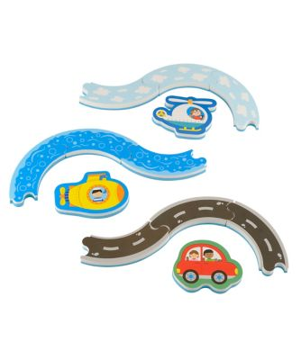 Early Learning Centre Track And Transport Bath Puzzle