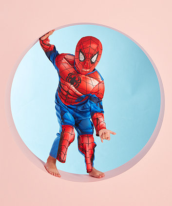 Early Learning Centre Spiderman Dress Up Costume with Mask  size 3-4 year old