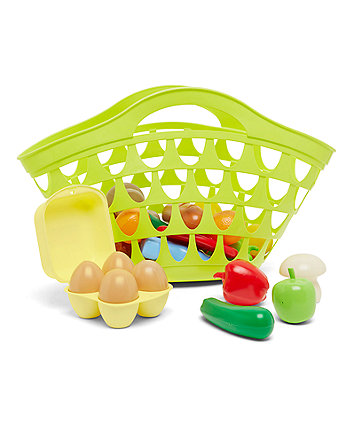 Early Learning Centre Fruit And Vegetables Shopping Basket