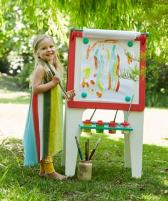 Early Learning Centre Wooden Double Sided Easel - Blue