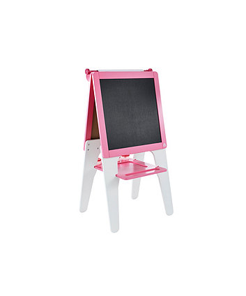Early Learning Centre Double Sided Wooden Easel - Pink