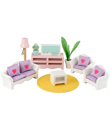 Early Learning Centre Rosebud luxury living room set