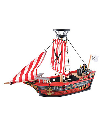 Early Learning Centre Wooden Pirate Ship