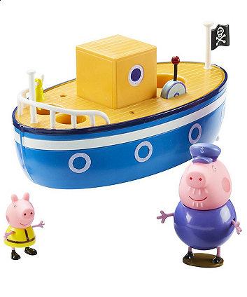Peppa Pig Grandpa Pigs Bath Time Boat