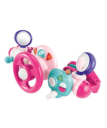 Early Learning Centre Light & Sound Buggy Driver Pink