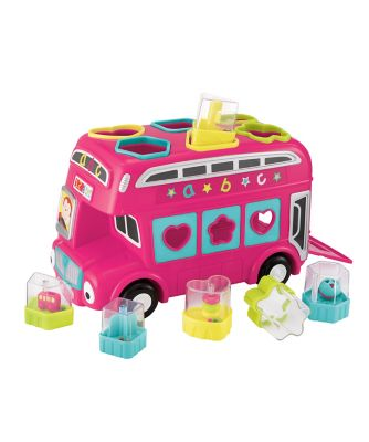 Early Learning Centre Shape Sorting Bus - Pink