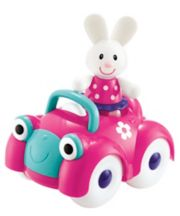 Early Learning Centre Toybox Rosie Rabbit And Motor Car