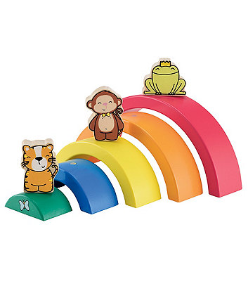 Early Learning Centre Wooden Curved Puzzle