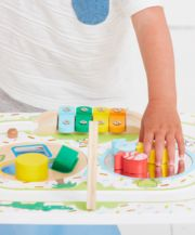 Early Learning Centre Wooden Activity Train Table