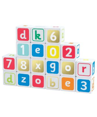 Early Learning Centre Wooden Alpha Blocks