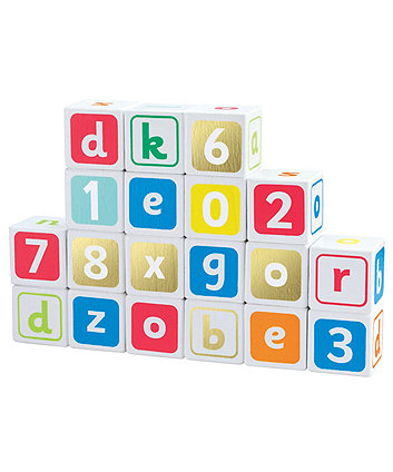 Early Learning Centre Wooden Alphabet Blocks