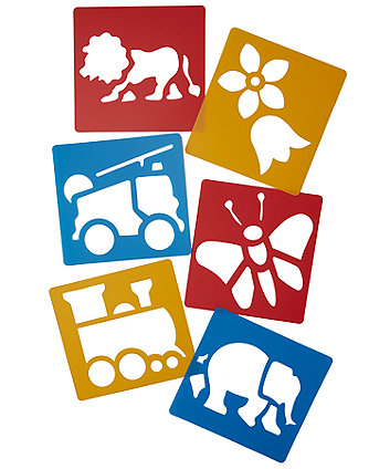 Early Learning Centre  Stencils - 6 Pack