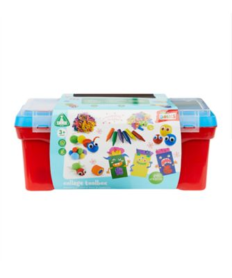 Early Learning Centre Collage Toolbox - Blue