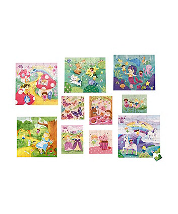 Early Learning Centre 10 In A Box - Magical World Puzzles