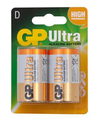 GP Ultra Alkaline D2 Battery 1 Pack