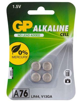 GP Ultra Alkaline A76 Battery 1 Pack