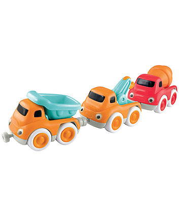 Early Learning Centre Whizz World Construction Vehicle Magnetic Trio Set