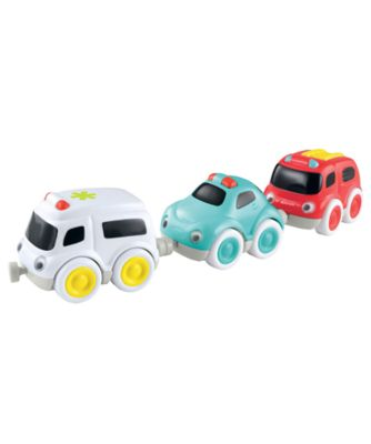 Early Learning Centre Whizz World Emergency Car Trio