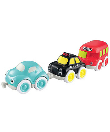 Early Learning Centre Whizz World City Vehicle Magnetic Trio Set