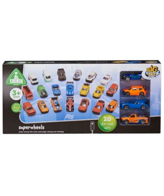 Early Learning Centre Big City Superwheels Vehicles - 20 Piece