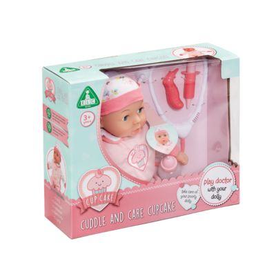 Early Learning Centre Cupcake Cuddle and Care Baby