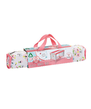 Early Learning Centre Cupcake Dolly Travel Bed