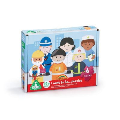 Early Learning Centre Happyland I Want To Be Puzzle