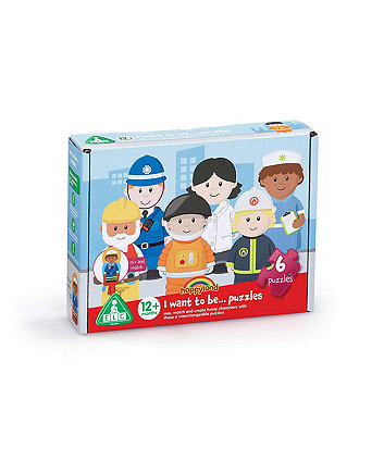 Early Learning Centre Happyland Want To Be Puzzles Set