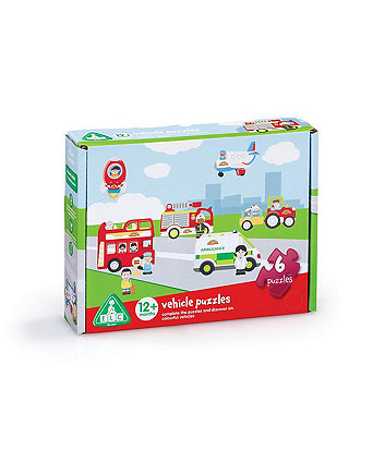 Early Learning Centre Happyland Vehicle Puzzles