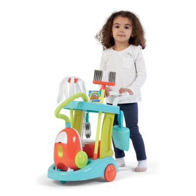 Early Learning Centre Cleaning Trolley With Vaccum