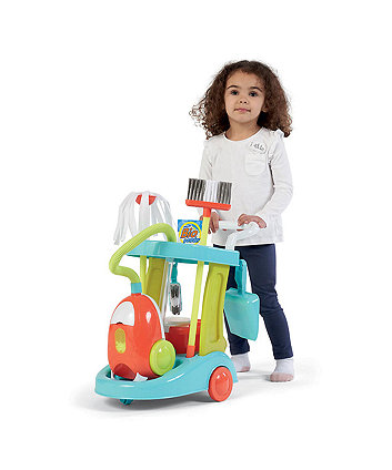 Early Learning Centre Cleaning Trolley Set With Vacuum Cleaner
