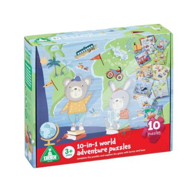 Early Learning Centre 10 In 1 World Adventure Puzzle