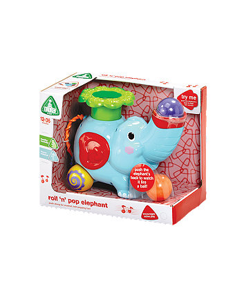 Early Learning Centre Roll N' Pop Elephant