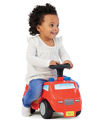 Early Learning Centre Lights And Sounds Fire Engine Ride On