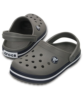 93bb7789ed8 Crocband smoke/ navy Crocs. 204537-05H