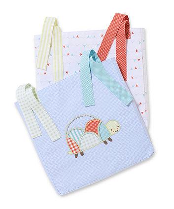 Mothercare Patchwork Graden Cot Pockets