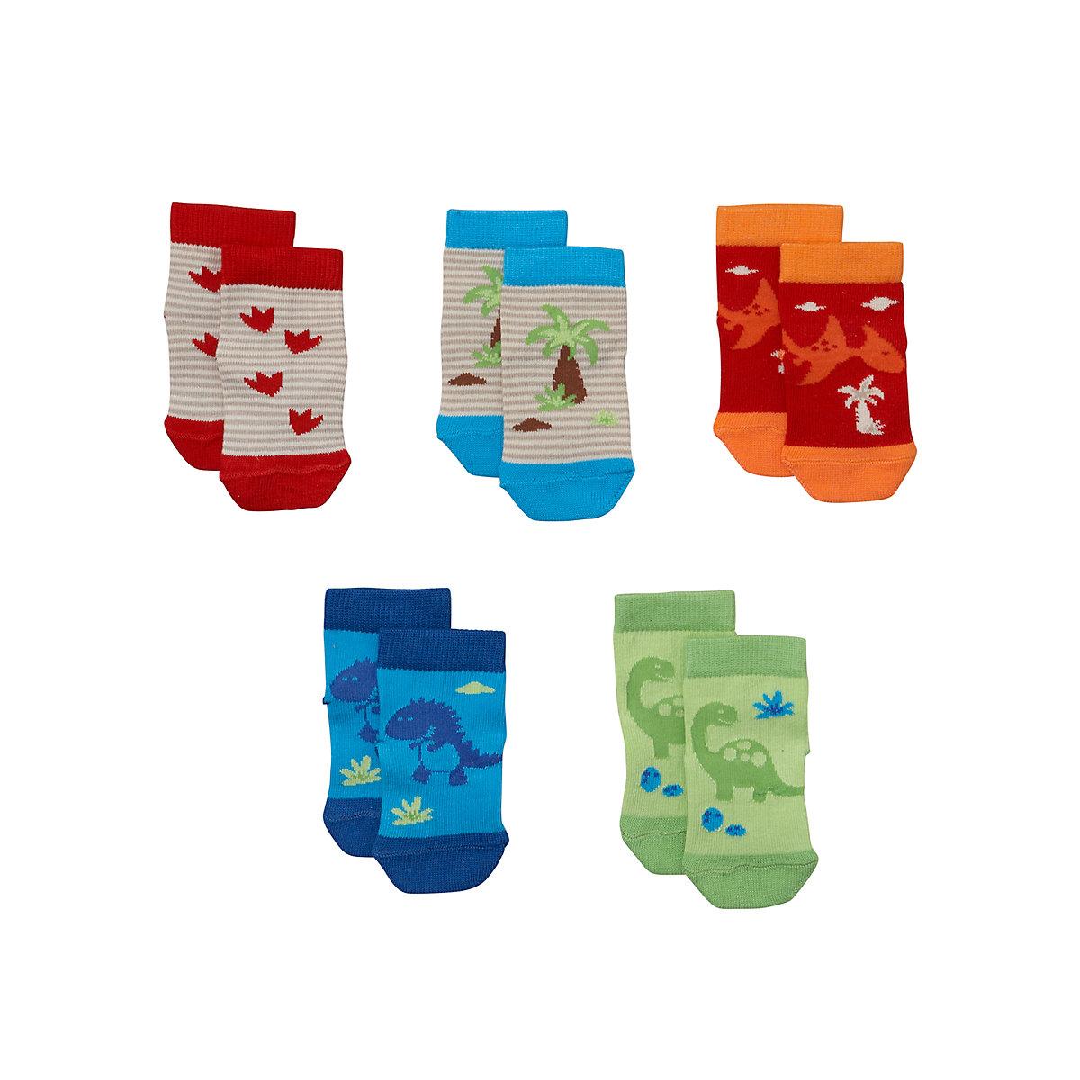 Mothercare Dinosaur Socks - 5 Pack - Dinosaur Gifts